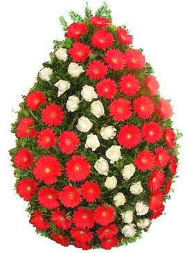 Coroana gerbera si trandafiri 15 0