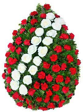 Coroana trandafiri cu garoafe 17 0