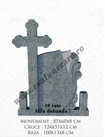 Cruce din granit melc C3 0