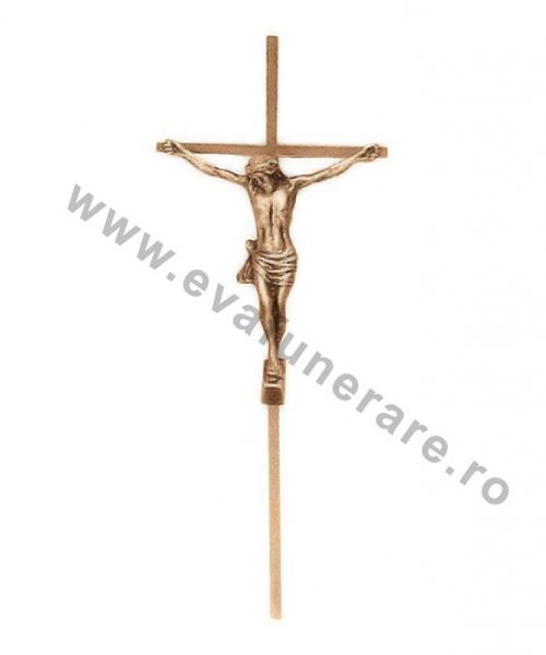 crucifix bronz cu iisus 0