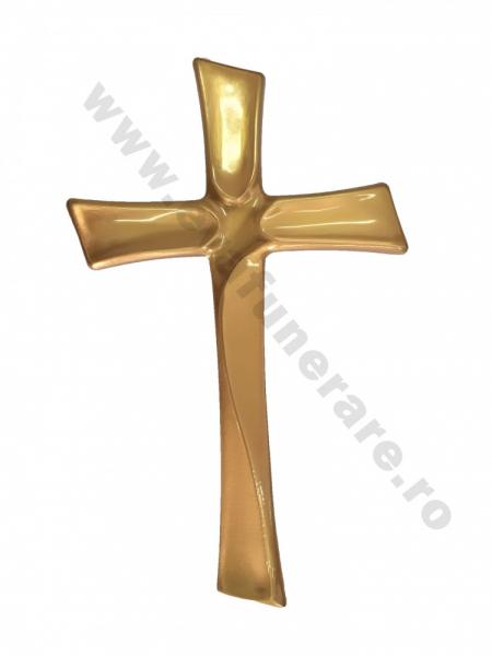 Crucifix metalic bronz 0