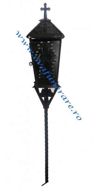 Felinar metalic S 0