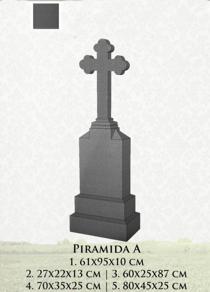 Monument granit piramida A 0