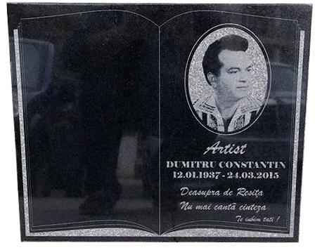 Placa memoriala din granit 1 0