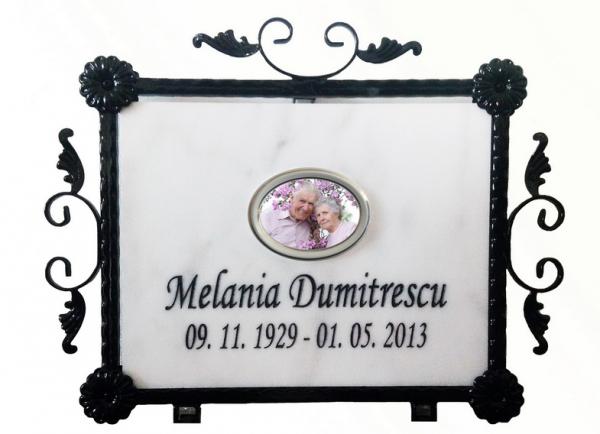 Placa memoriala marmura 0