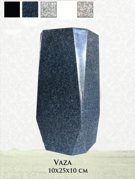 Vaza granit gri inchis 0