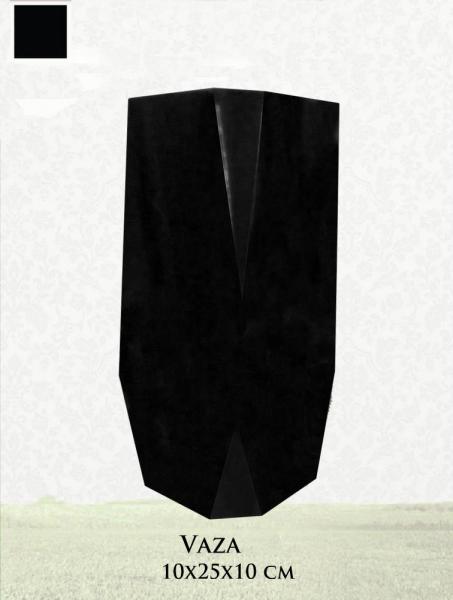 Vaza granit negru 0