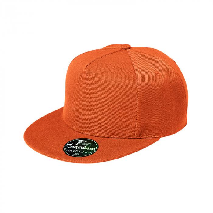 Sapca rap portocalie [0]