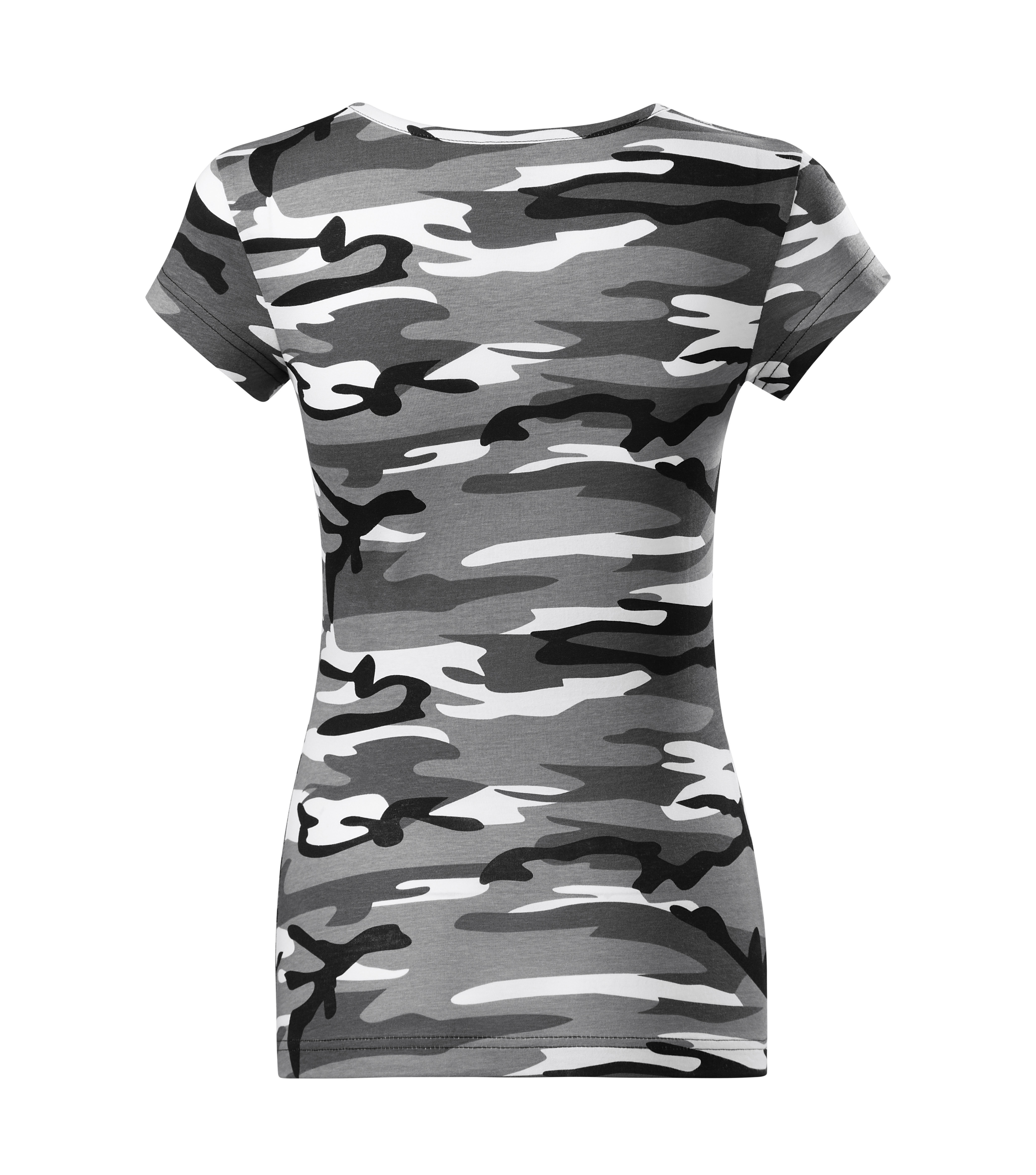 tricou dama camuflaj gri [2]