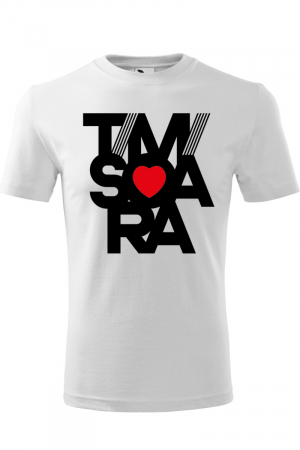 Tricou alb Timisoara [0]