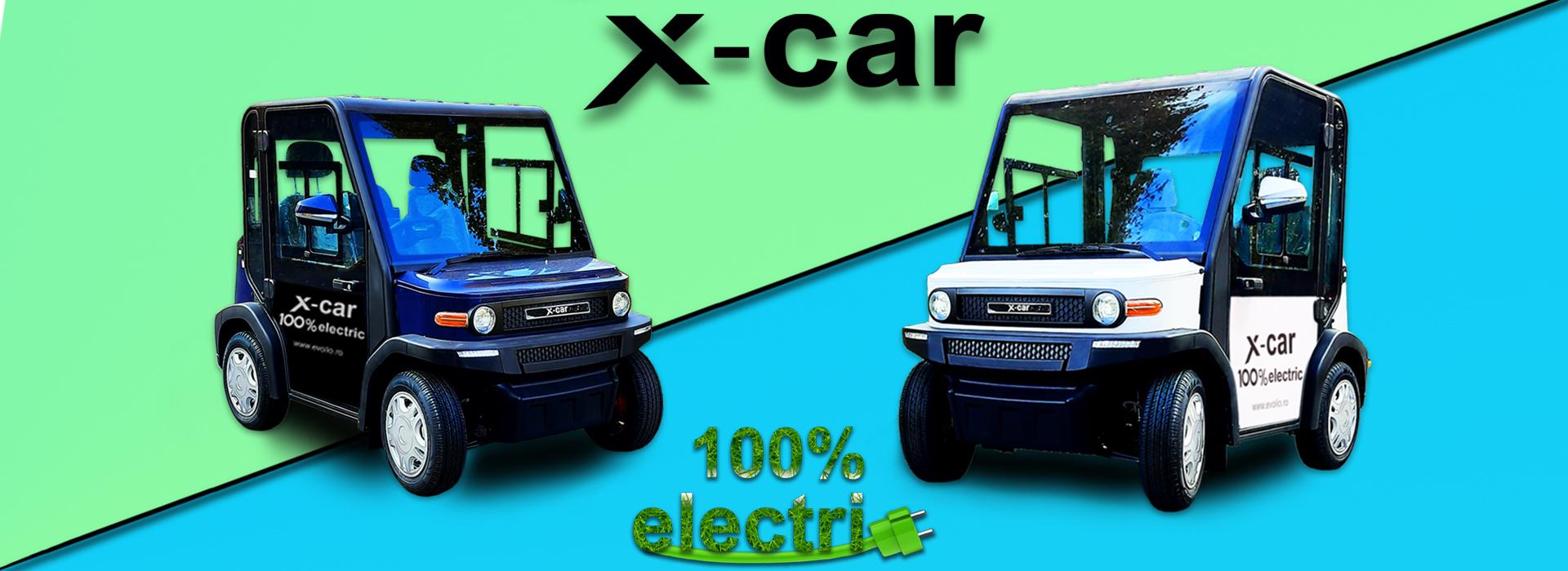 Masini Electrice X-CAR