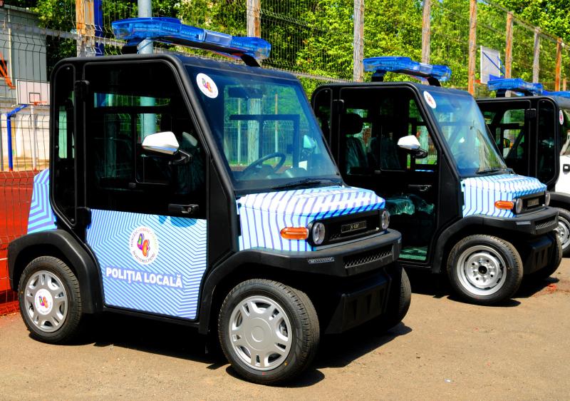 Livrat catre Politia Locala Sector 4, Bucuresti