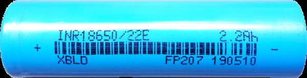 ACUMULATOR  INR18650 TIP SAMSUNG, 2200 mAh