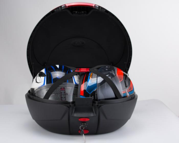 Cutie portbagaj JDR, motocicleta, 42L [3]