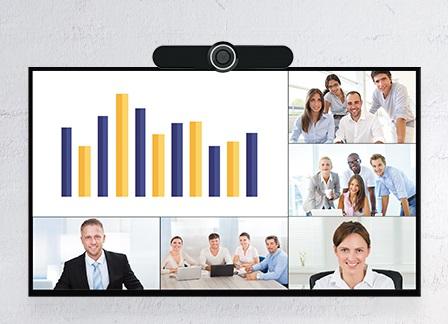 HOLO PRO - Sistem profesional videoconferinta camera 4K 1