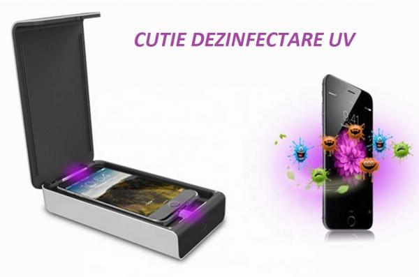 Sterilizator Smartphone Sanity-S1, UV-C 2