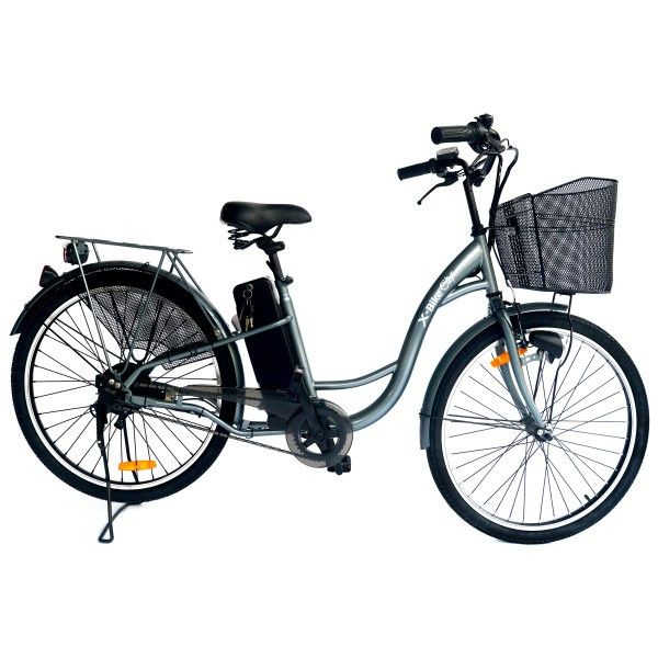 "X-BIKE CITY, 26"", 10AH, AUTONOMIE 70KM 0"