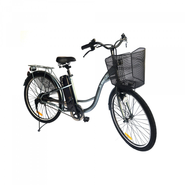 "X-BIKE CITY, 26"", 10AH, AUTONOMIE 70KM 1"