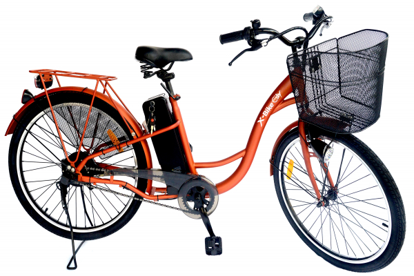 "X-BIKE CITY, 26"", 10AH, AUTONOMIE 70KM"