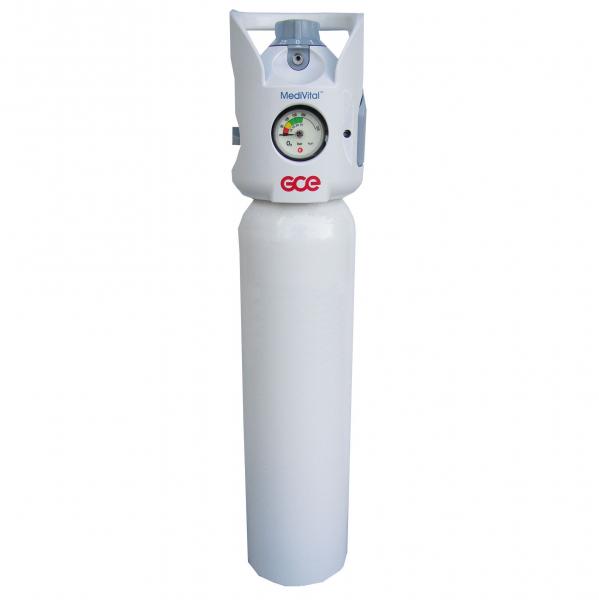 Tub / Butelie oxigen medical, capacitate 10 litri, cu regulator - MediVital - GCE 0
