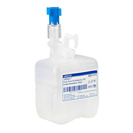 Barbotor / Umidificator preumplut cu apa sterila - 350 ml - Amsino 0