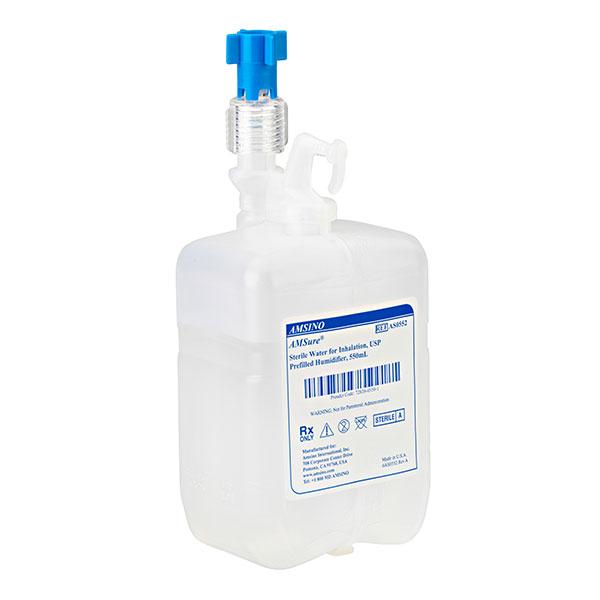 Barbotor preumplut cu apa sterila 550 ml Amsino 0