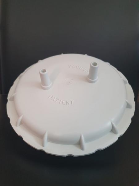 Capac cu garnitura pentru borcan autoclavabil 4l pentru aspiratoare Clinic/Clinic Plus/Hospi Plus 1