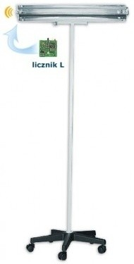 Lampa UV bactericida, cu stativ mobil, cu radiatie directa, functionare in absenta personalului - NBV 30 PL 5