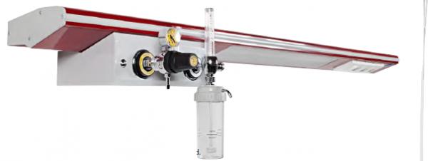 Rampa gaze medicale (oxigen/aer/vacuum) - 1 post [0]