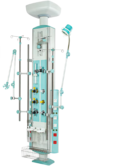 Rampa verticala gaze medicale pentru terapie intensiva 0