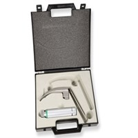 Set laringoscop cu fibra optica GIMA GREEN Flexi - lama McIntosh 3 0