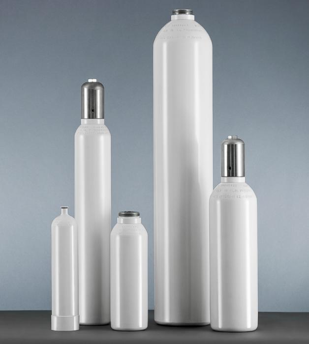 Tub / butelie din otel, pentru oxigen medical, capacitate 10 litri [1]
