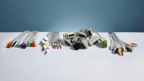 Cablu EKG/ECG cu 10 fire pentru QUINTON BURDICK 0