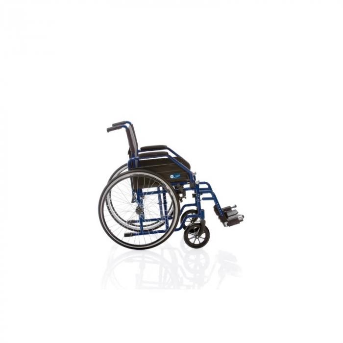 Carucior cu rotile cu actionare manuala, pentru transport pacienti - CP100 [2]
