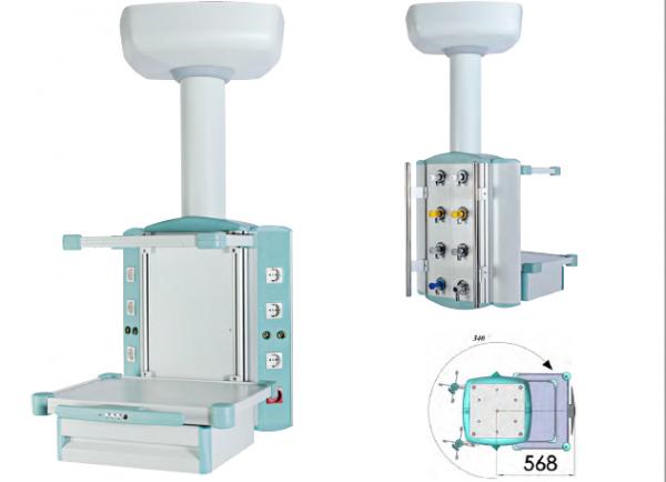 Consola suspendata pentru dispozitive de monitorizare pacient - model1 0