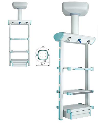 Consola suspendata pentru dispositive de monitorizare pacient model2 [0]