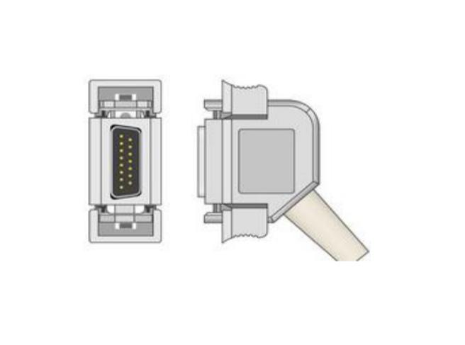 Cablu EKG cu 10 fire pentru pacient - Cablu pentru electrocardiograf - EE100CUBI-200 [0]