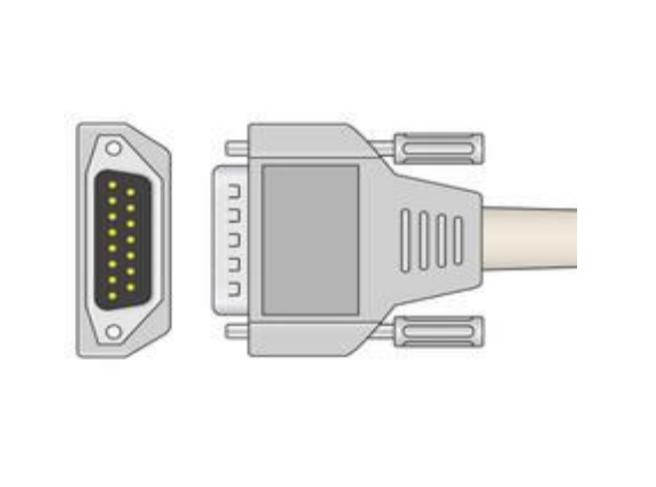 Cablu EKG cu 10 fire pentru pacient - Cablu pentru electrocardiograf - EE100ERI-200 [0]