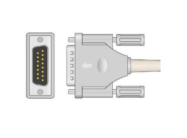 Cablu EKG cu 10 fire pentru pacient - Cablu pentru electrocardiograf - EE100URI-200 [0]