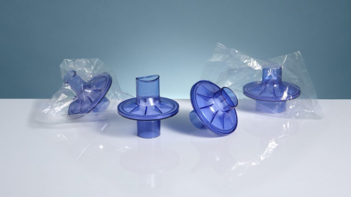 Filtru antiviral si antibacterian pentru spirometrie - int Ø 27,0 x ext Ø 30,5 mm / int Ø 29,5 x ext Ø 32,8 mm [1]