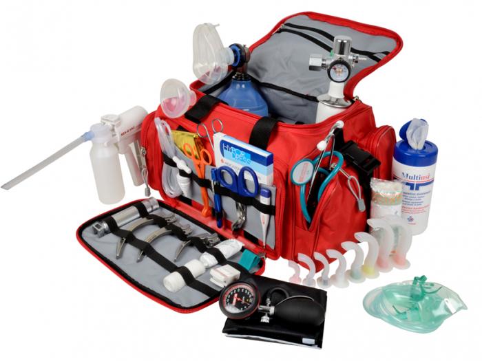 Geanta echipata pentru urgente - GIMA 5 0