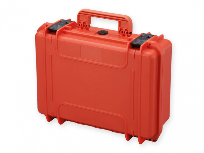 Geanta profesionala de transport - portocalie - cu spuma - dimensiune medie 2