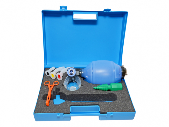 Kit / Geanta resuscitare si reanimare - fara butelie oxigen - SPEED 3 1