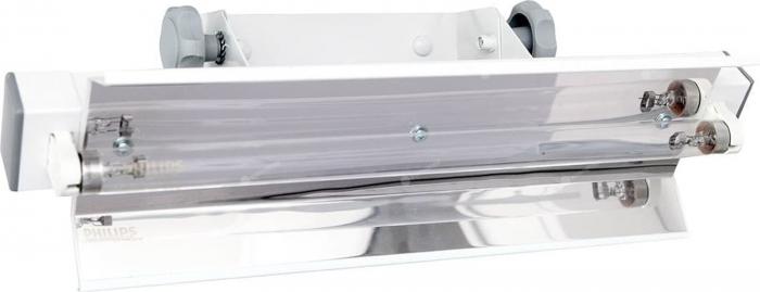 Lampa UV bactericida, cu montare pe perete, cu radiatie directa, functionare in absenta personalului - NBV 15 NL [0]