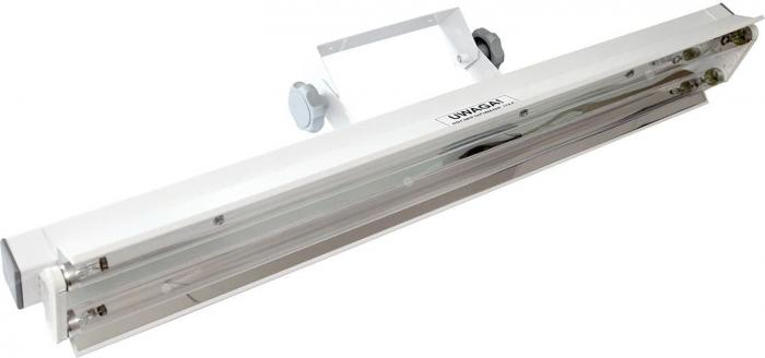 Lampa UV bactericida, cu montare pe perete, cu radiatie directa, functionare in absenta personalului - NBV 2x30 NL 2