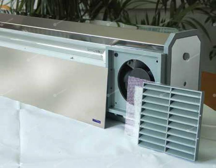 Lampa UV bactericida, cu stativ mobil, cu flux, functionare in prezenta personalului - NBVE 60 PL 2