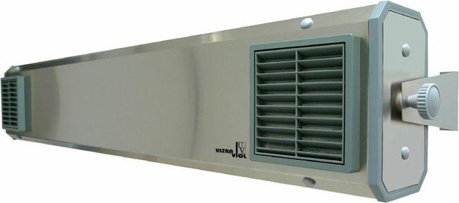 Lampa UV bactericida, cu montare pe tavan, cu flux, functionare in prezenta personalului - NBVE 60 SL [1]