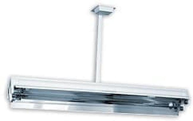 Lampa UV bactericida, cu montare pe tavan, cu radiatie directa, functionare in absenta personalului - NBV 2x30 SL [0]