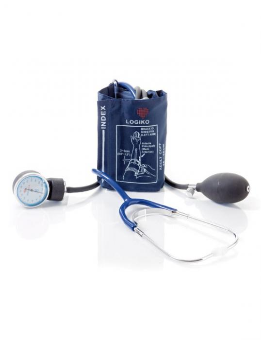Tensiometru mecanic aneroid cu manometru si stetoscop - DM353 - LOGIKO [0]
