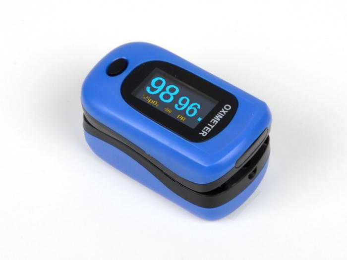 Pulsoximetru antisoc si impermeabil, cu ecran OLED - OXY-4 0